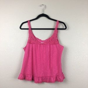 Abercrombie & Fitch lace tank M